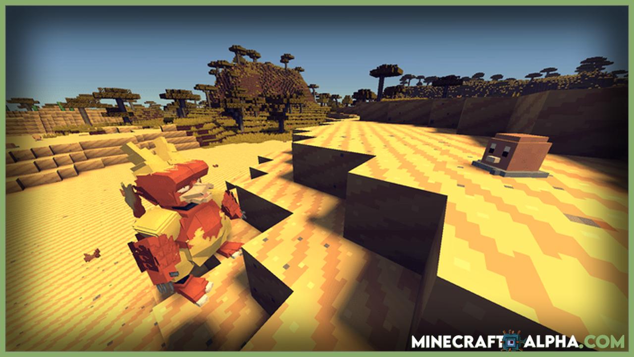 Pixelmon Mod 1.17.1 (Play Pokemon GO In Minecraft)
