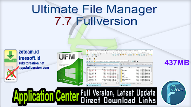 Ultimate File Manager 7.7 Fullversion