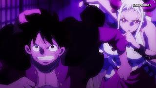 ワンピースアニメ ワノ国編 995話 | ONE PIECE ルフィ ヤマト
