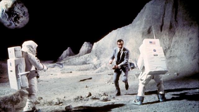 Moon Landing are fake.