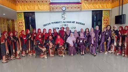 IKIAD Kota Padang kunker ke IKKD Pekanbaru