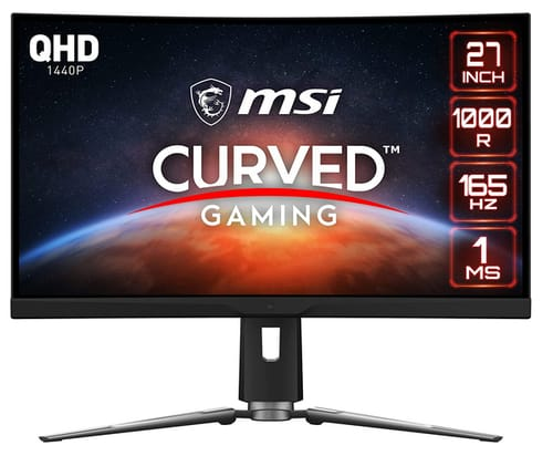 MSI Optix MPG ARTYMIS 273CQR Full HD Curved Monitor