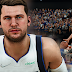 NBA 2K22 Luka Doncic Cyberface and Body Model by PPP