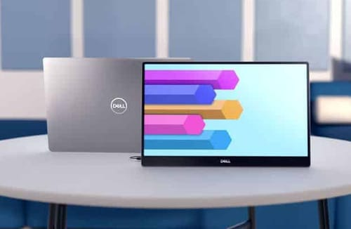 Dell launched the first portable monitor