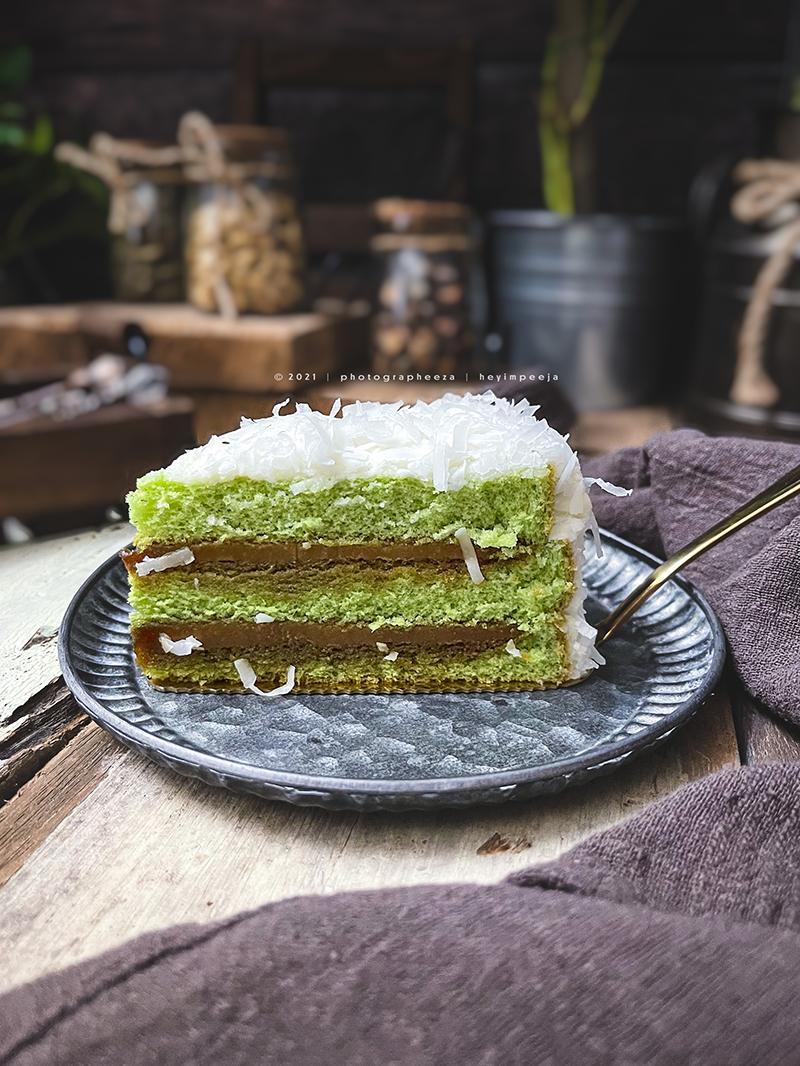 Kek Pandan Gula Melaka McCafé dari Secret Recipe