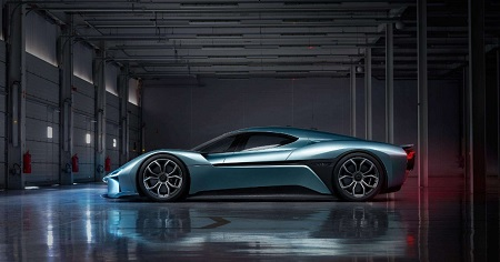 NIO EP9: the world's fastest electric supercar