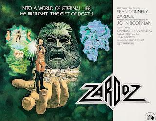Rodaje y curiosidades de Zardoz
