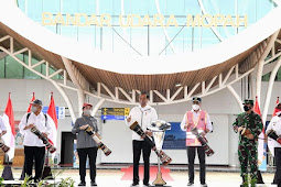 Joko Widodo Resmikan Terminal Baru Bandara Mopah Merauke