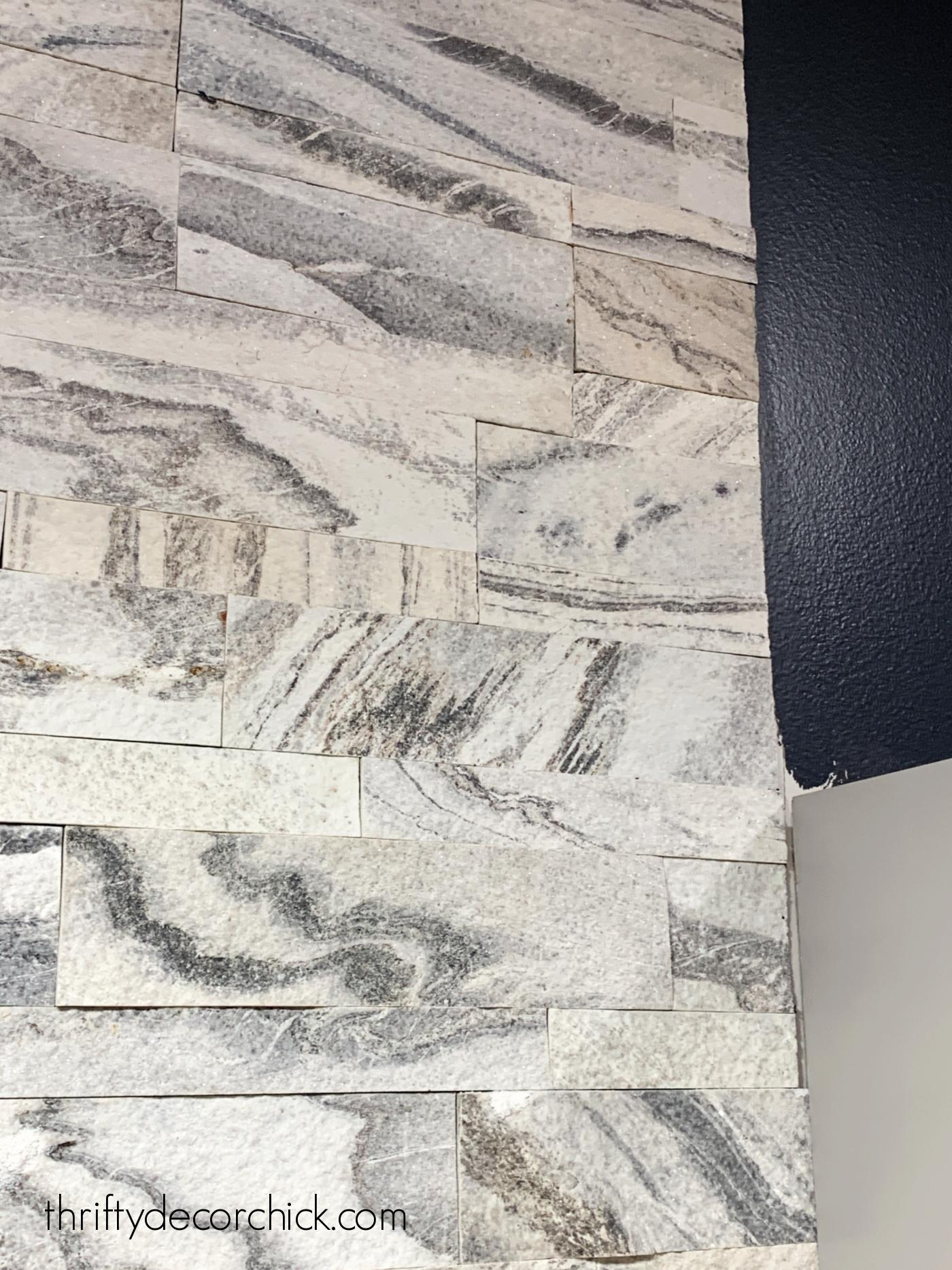 Aspen marble peel and stick tile