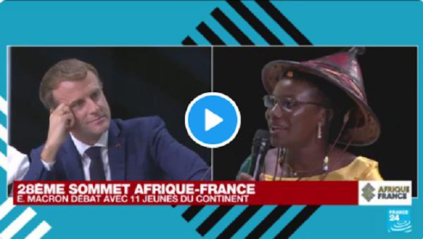 [VIDEO] Sommet Afrique-France : une entrepreneuse burkinabè donne une leçon à Macron «Sachez que l'Afrique se développera par elle-même !»