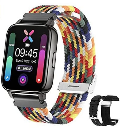 Eastcoo 1.69 HD Full Touch Screen Fitness Smart Watch