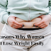10 Reasons Why Women Can't Lose Weight Easily