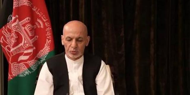 Unggah Video di Facebook, Ashraf Ghani Janji Segera Kembali ke Afghanistan