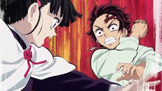 鬼滅の刃アニメ 25話   竈門炭治郎 栗花落カナヲ Tsuyuri Kanao   Demon Slayer Episode 25