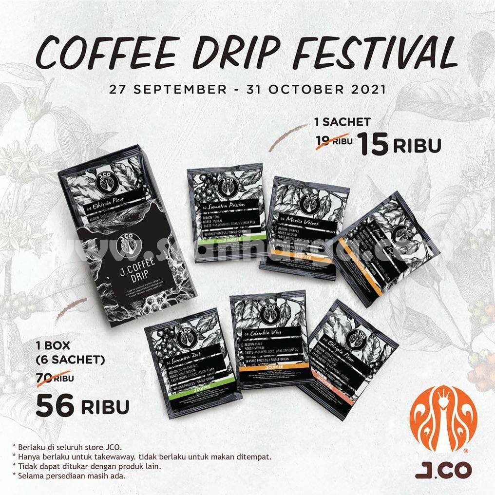 JCO Promo Coffee Drip Festival Oktober 2021