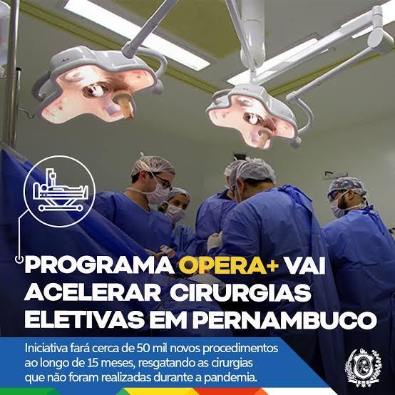 Governo de Pernambuco investe R$ 81,5 milhões para acelerar cirurgias eletivas no Estado