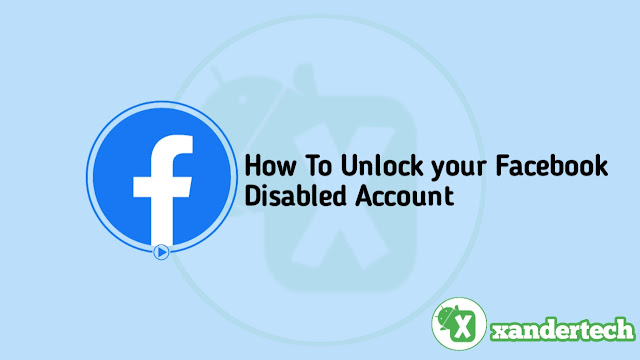 How to unlock Facebook account when disabled by Facebook