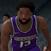 NBA 2K22 Tristan Thompson Cyberface, Afro Hair and Body Model (Current Look) by Shwr apuyan