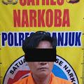 Dibekuk Polisi Kurir Shabu dari Berbek ,Saat Transaksi di Loceret