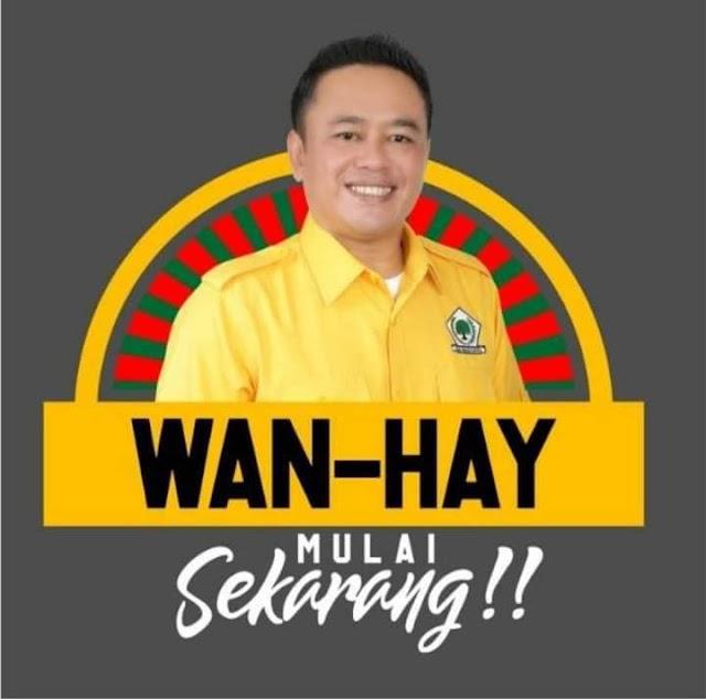 HUT Ke-57 Partai Golkar, Ketua DPD Partai Golkar Kab.Bogor Wanhay Ajak Kader Rapatkan Barisan