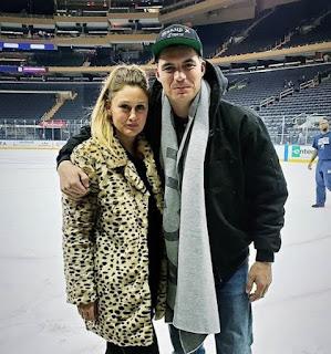 Chelsea Thea Pagnini with her husband Zane Holtz