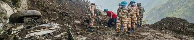 Indian Army Rescues 16 ITBP Personnel Stranded Near India-China Border