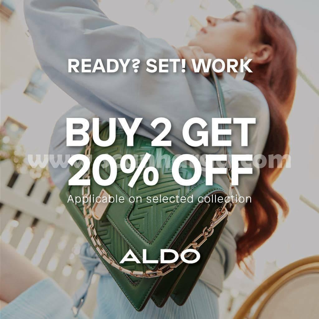 Promo ALDO Shoes Buy 2 Get 20% Off