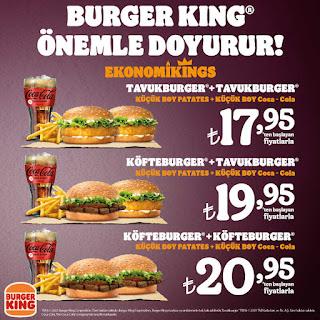 burger king menü fiyat  restoran kampanyaları  2021
