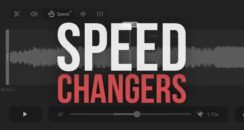 speed up audio without changing pitch
