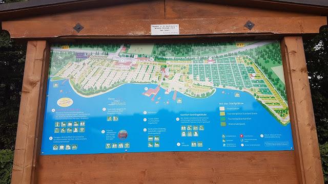 Übersicht / Platzplan Camping Bannwaldsee