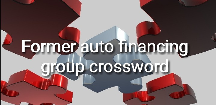 former auto financing group crossword