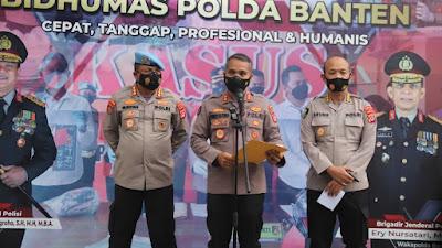 """Akhirnya oknum polisi yang """"Smackdown"""" mahasiswa demo Bupati Tangerang di tahan"""