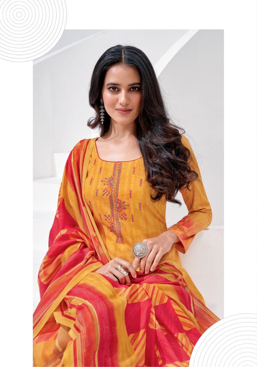 Suryajyoti Preksha Vol 1 Pant Style Suits Catalog Lowest Price