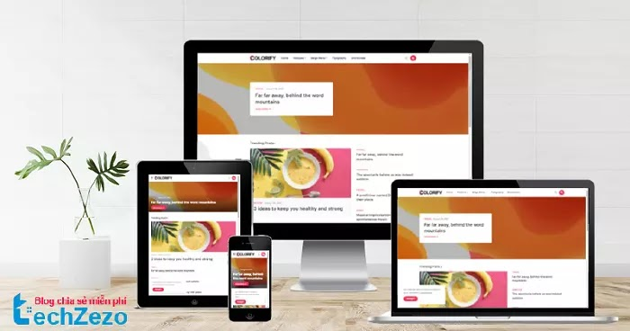 Colorify Premium Blogger Template v1.5 Free Download