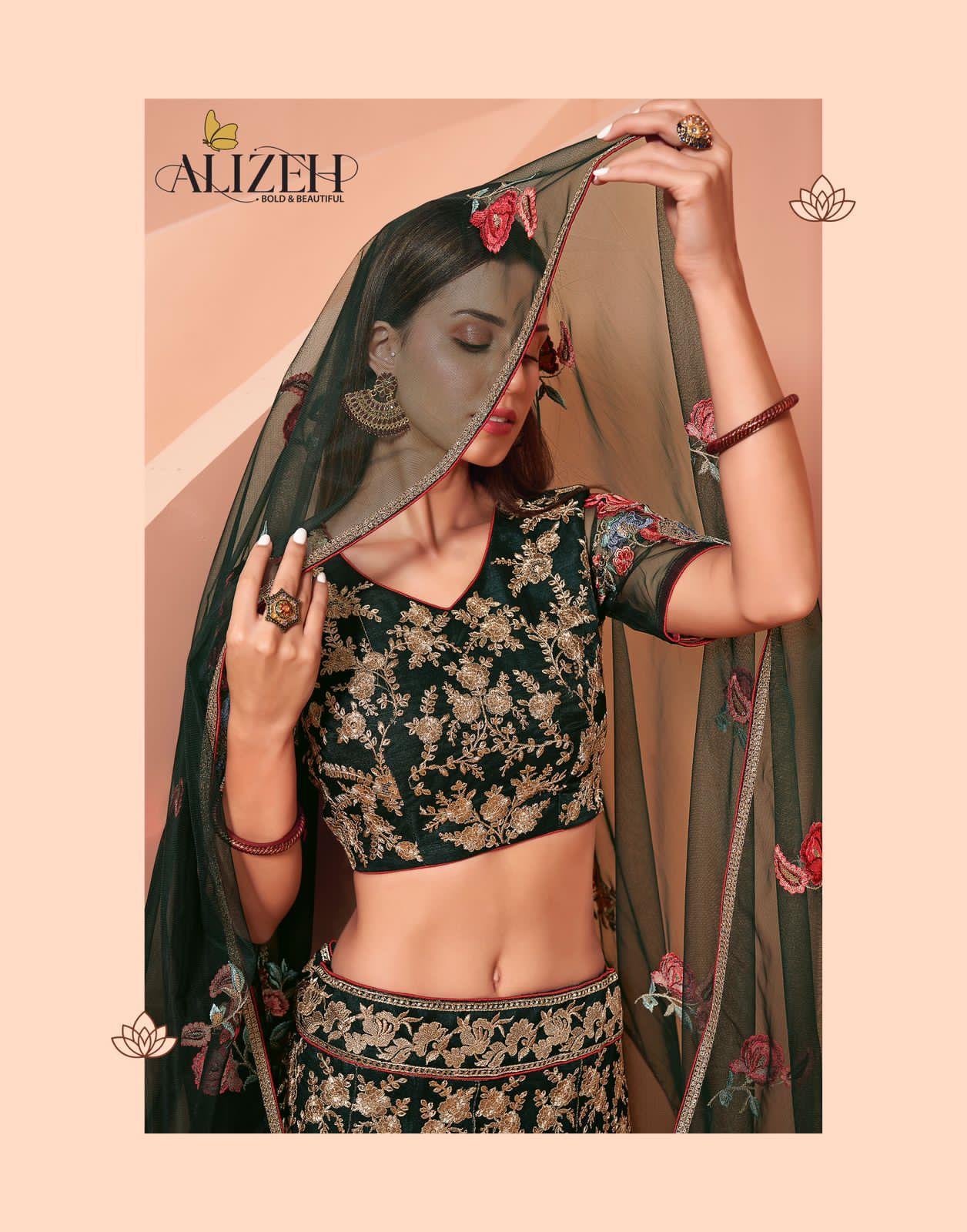 Alizeh Wedding Affair Vol 2 Lehenga Choli Catalog Lowest Price