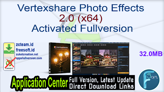 Vertexshare Photo Effects 2.0 (x64) Activated Fullversion