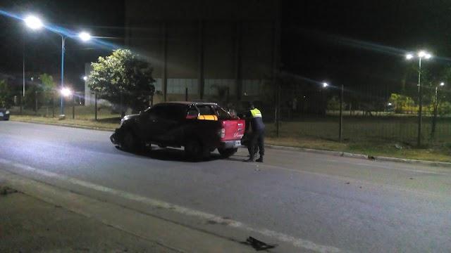 Fuerte Accidente en ciudad de Alberdi