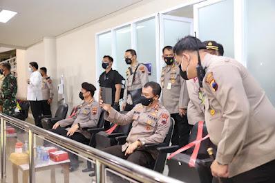 Kapolda Jateng Pimpin Pengamanan Laga Persis Lawan PSIM, Pertandingan Berakhir Seri