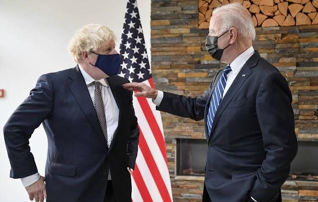 US President Joe Biden and UK Prime Minister Boris Johnson agree to hold online G7 summit on Afghanistan