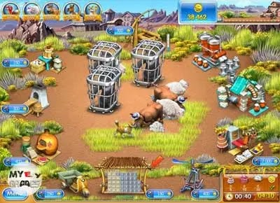 شرح حول تحميل لعبة farm frenzy 3 للاندرويد والكمبيوتر من ميديا فاير