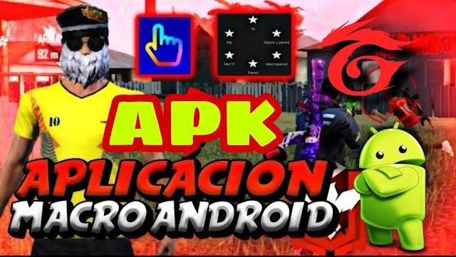 nueva MACRO Android para FREE FIRE /DESCARGAR APK actualizada SIN BANEO
