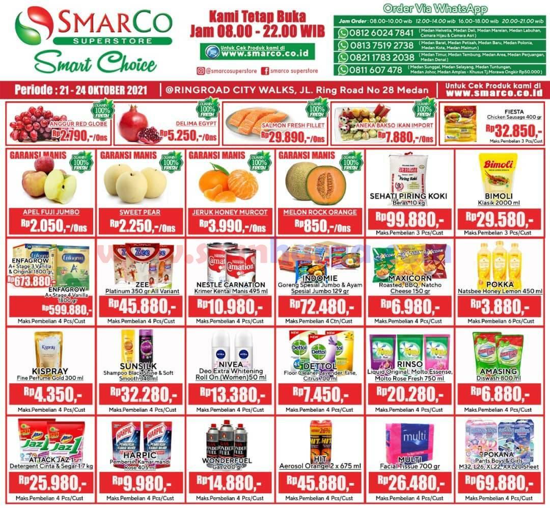 Katalog Promo SMARCO Superstore Periode 21 - 24 Oktober 2021