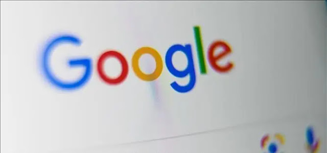 Google icon on tablet screen. Photo: AFP