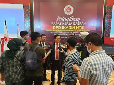 Pengurus IKADIN NTB Resmi Dilantik,Bakal Kedepankan Mediasi Kasus