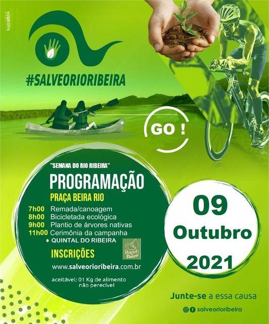 Semana do Rio Ribeira neste 09/10