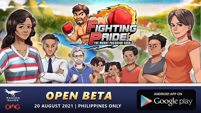 Manny Pacquiao mobile game starts open beta on August 20