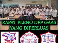 Rudy Silfa, SH Memimpin Rapat Pleno diperluas di Restoran Padang Simpang Raya Jakarta Pusat, Sukses
