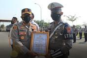 17 Personil Polres Serang Berprestasi yang Dapat Penghargaan, Salahsatunya Anggota Satlantas