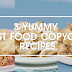 3 YUMMY FAST FOOD SNACKS TO MAKE AT HOME