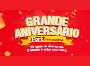 Aniversário 2021 Fort Atacadista 20 Anos
